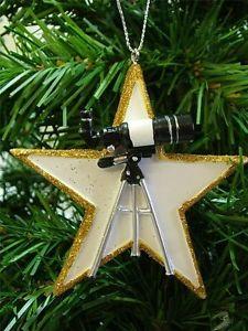 Minitelescopio para decorar el árbol de Navidad