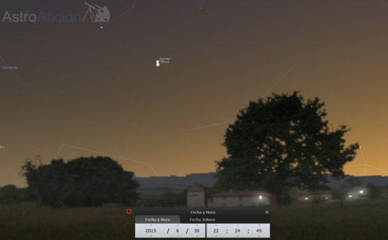 Conjunción Júpiter Venus