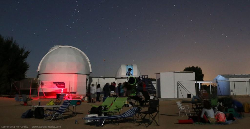 Perseidas 2016 Complejo Astronómico La Hita