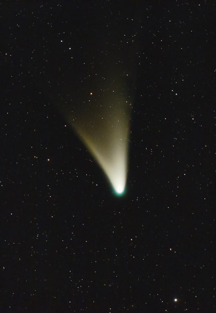 Cometa Panstarrs por Ignacio Diaz Bobillo http://www.pampaskies.com
