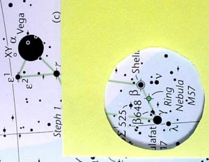 Método Starhopping - cartes celestes