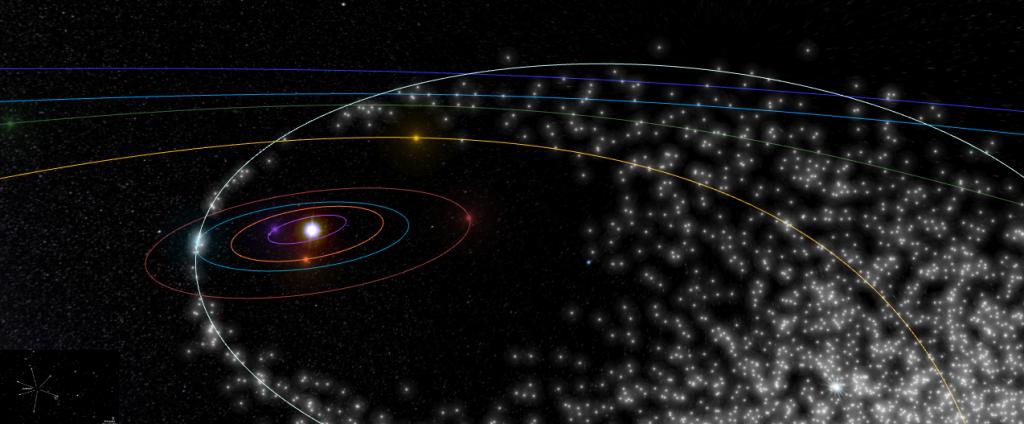 La Tierra atravesando los restos de polvo del Cometa Swift-Tuttle