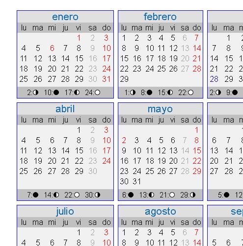 Calendario basado en el año civil