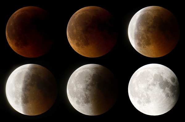 fases eclipse lunar