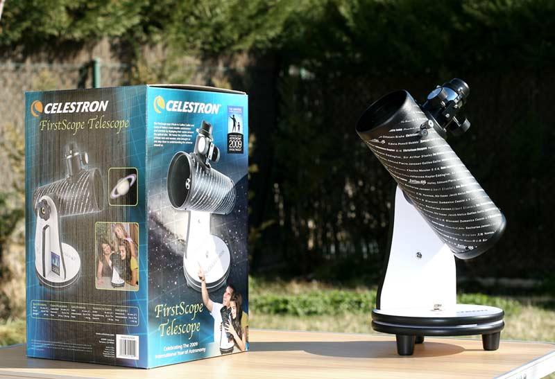 firstscope telescopio para niños