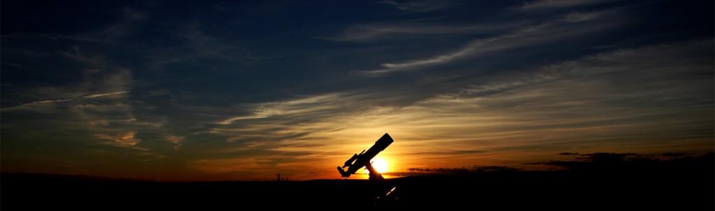 telescopio_atardecer