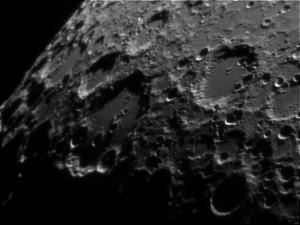 luna con telescopio