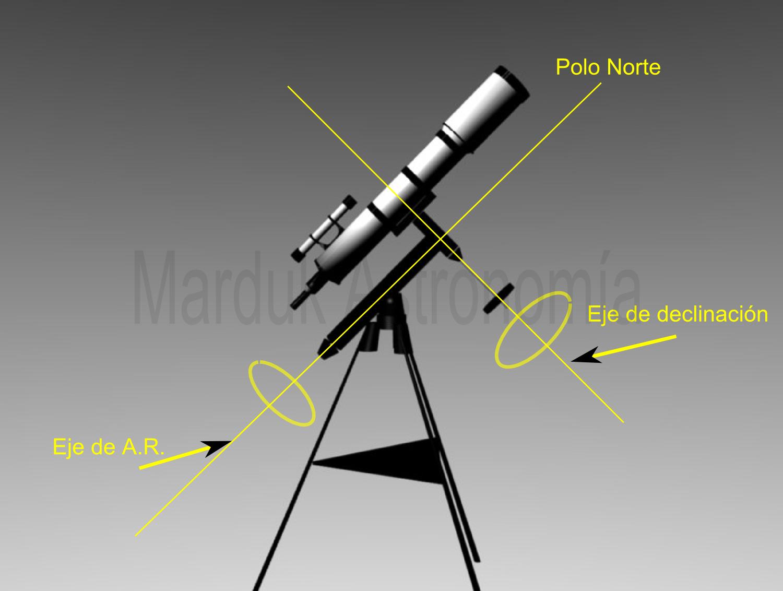 Tipos de Monturas para un telescopio - AstroAficion