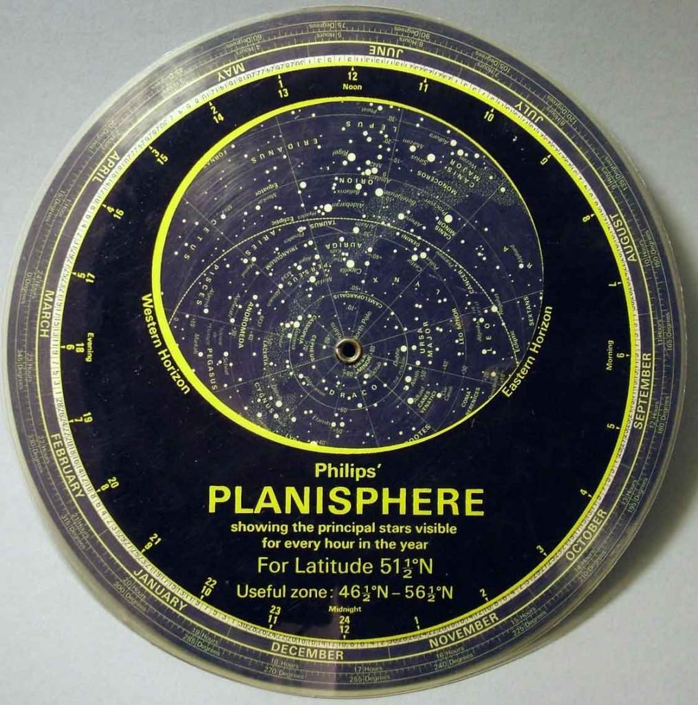 Planisferio celeste cómo se usa