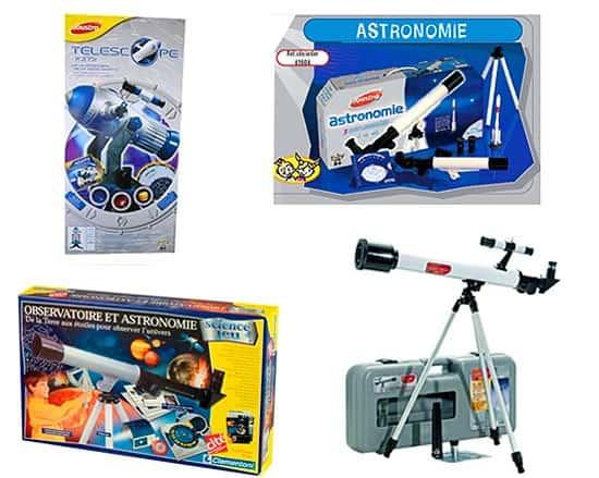 Telescopios infantiles juguete