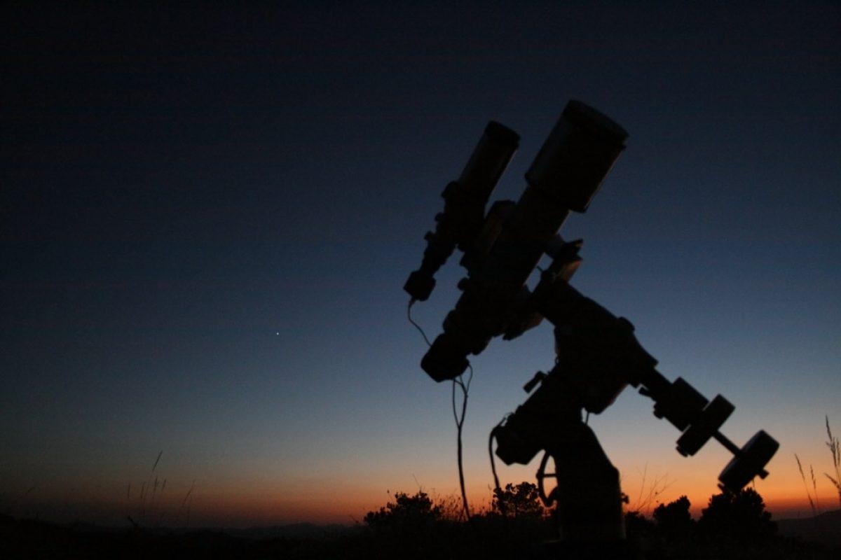 Telescopio Batería De Coche Adaptador