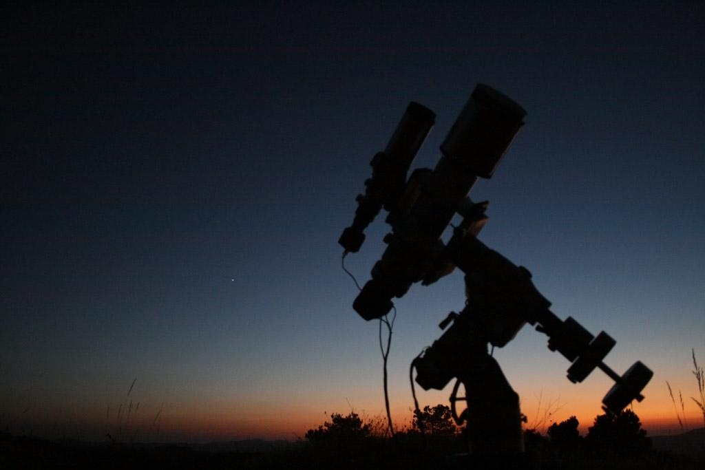 Sistemas de alimentación para la montura del telescopio (baterías)