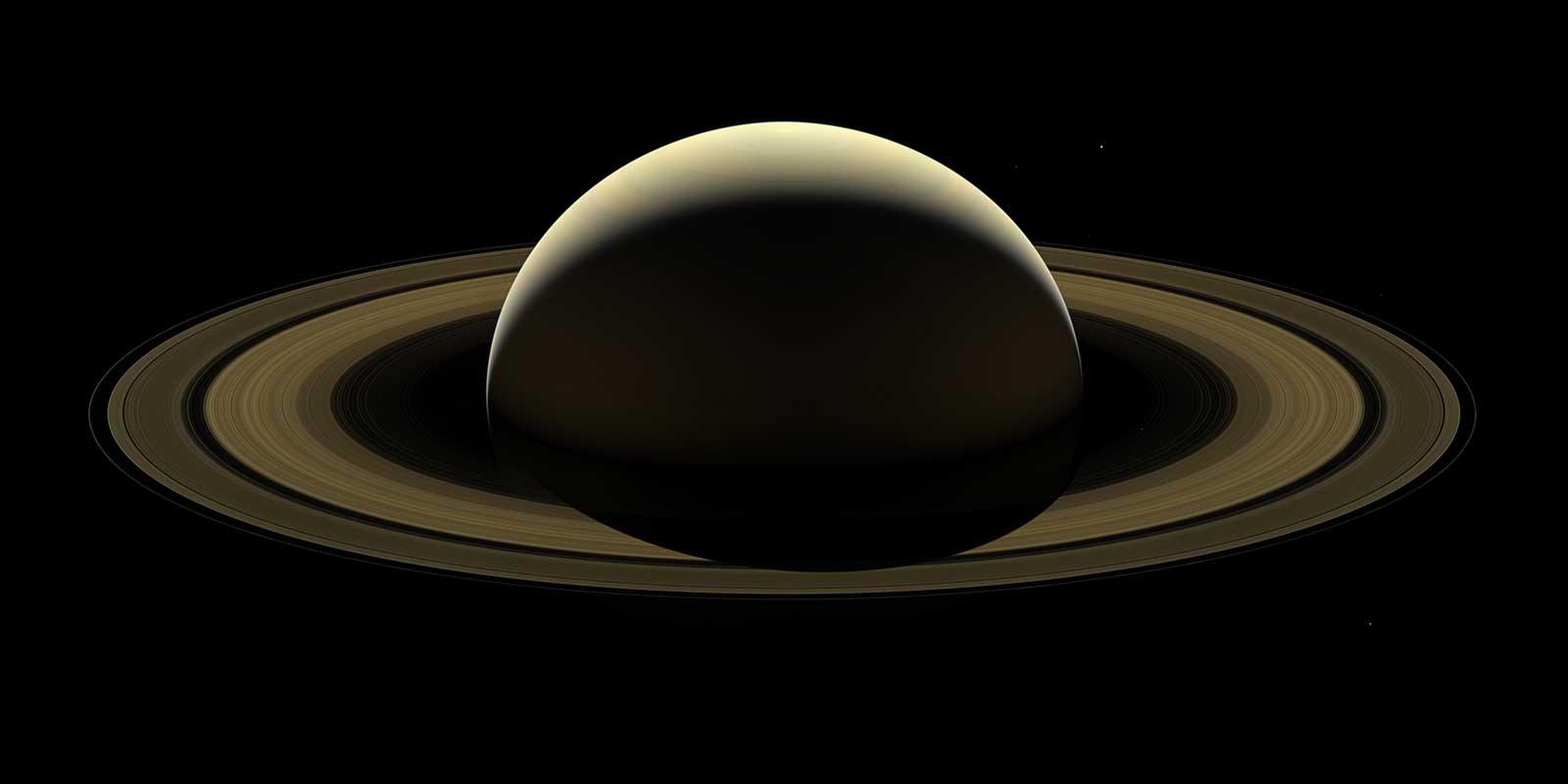 Júpiter y Saturno, en oposición en julio 2020