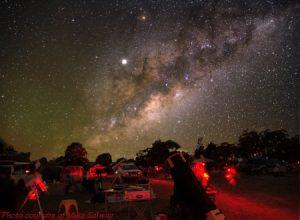 que ver con un telescopio