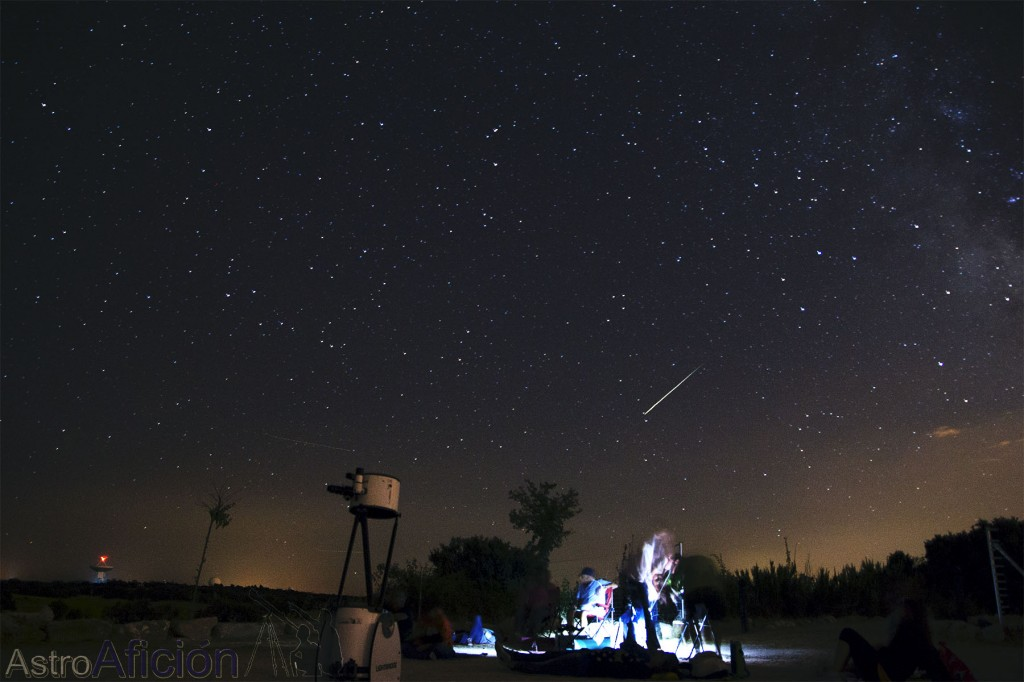 Guía para fotografiar estrellas fugaces