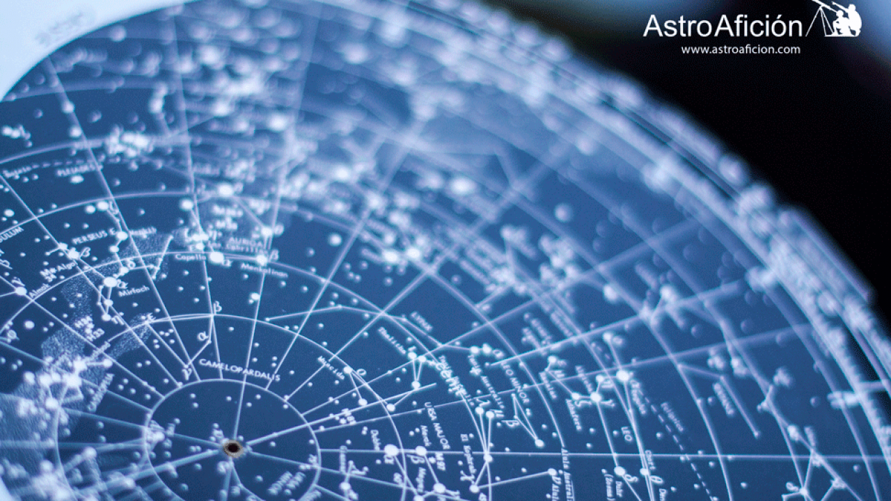 Mapa Estelar Hemisferio Norte.Como Usar Un Planisferio Celeste Astroaficion