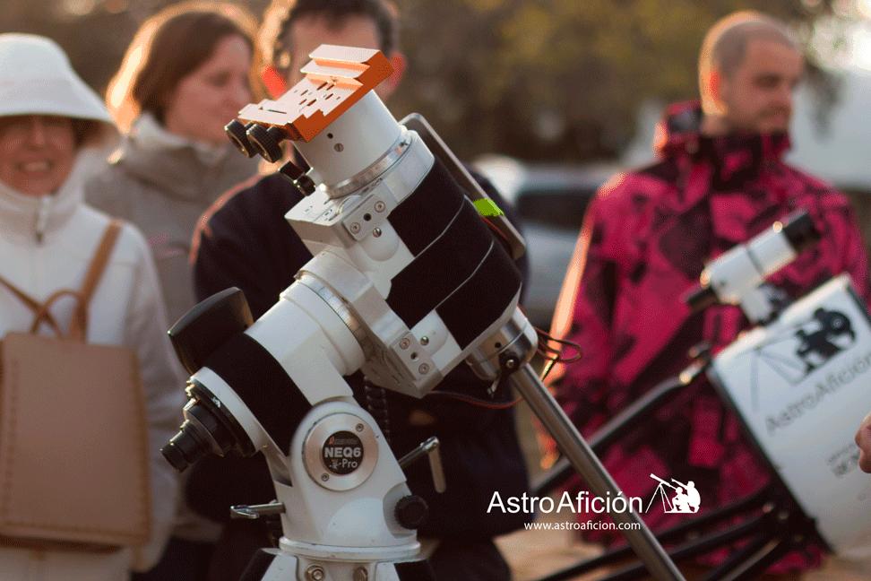 Tipos de Monturas para un telescopio