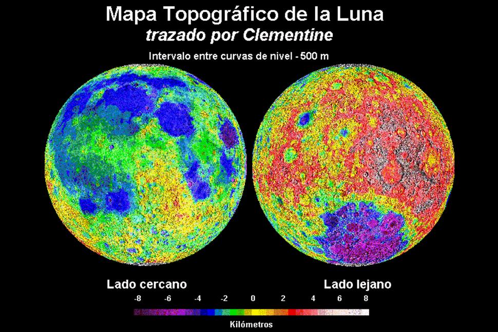 Un poco de geografía lunar