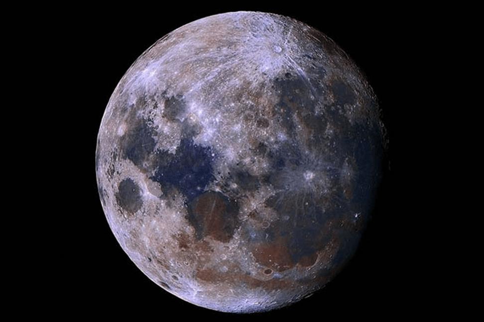 La cara oculta o la cara oscura de la Luna
