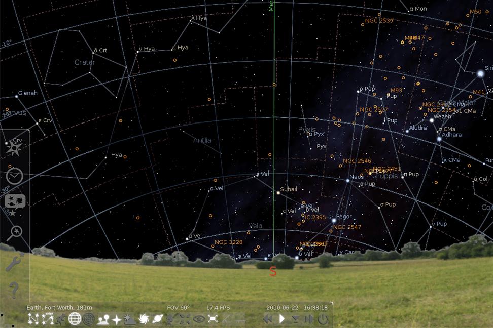 Software astronómico: Planetarios Virtuales