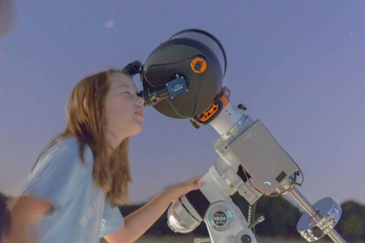 Actividades de astronomía y ciencia para colegios e institutos