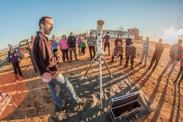 Manejo de telescopios profesionales