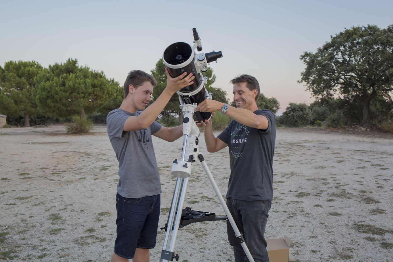 Te ayudamos con tu telescopio