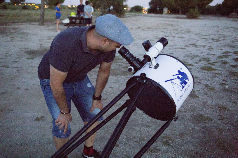 Curso de Manejo de Telescopios profesionales
