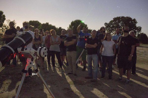 Reconoce constelaciones en nuestro curso de manejo de telescopios