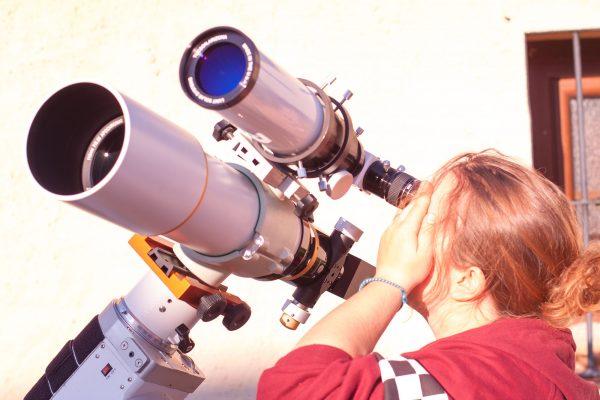 telescopios para ver el sol