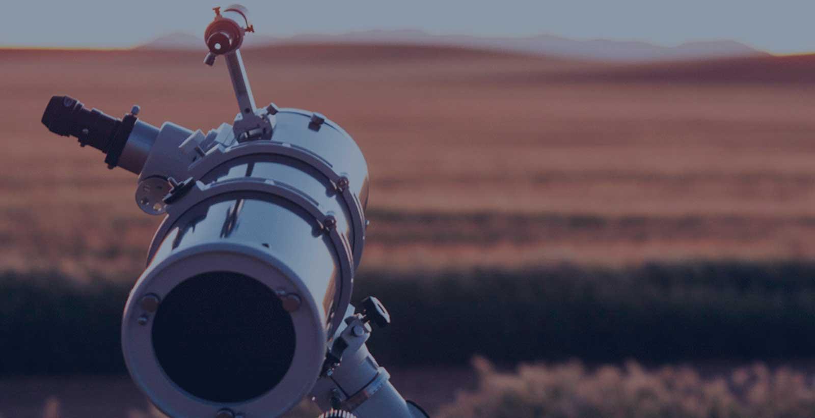 ¿Por qué no veo nada con mi telescopio? 5 errores más frecuentes