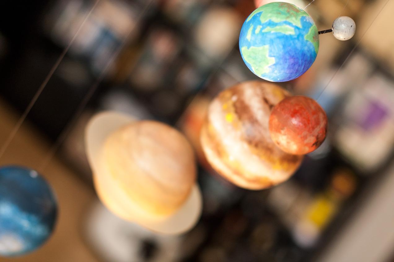 10 experimentos astronómicos para niños