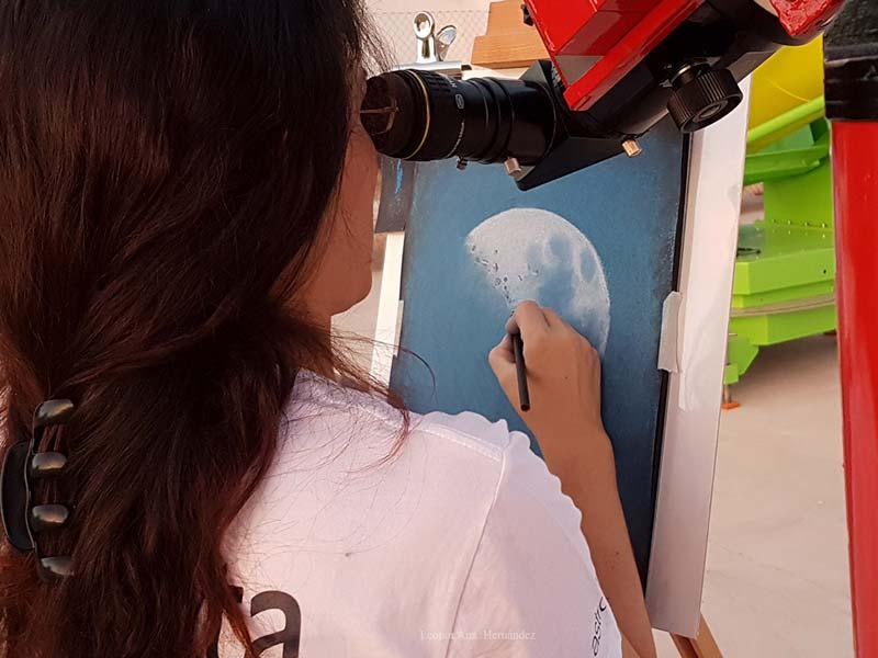 Dibujo Astronómico