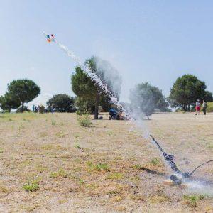 cohetes de agua