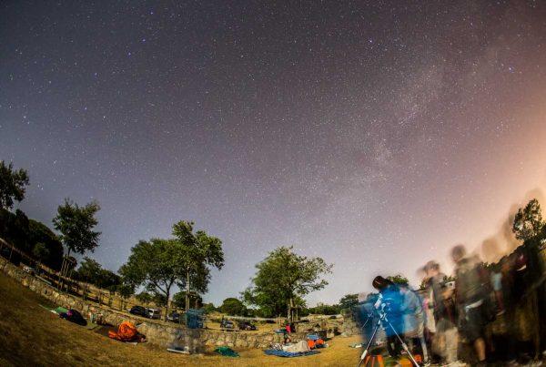 Observaciones con telescopio