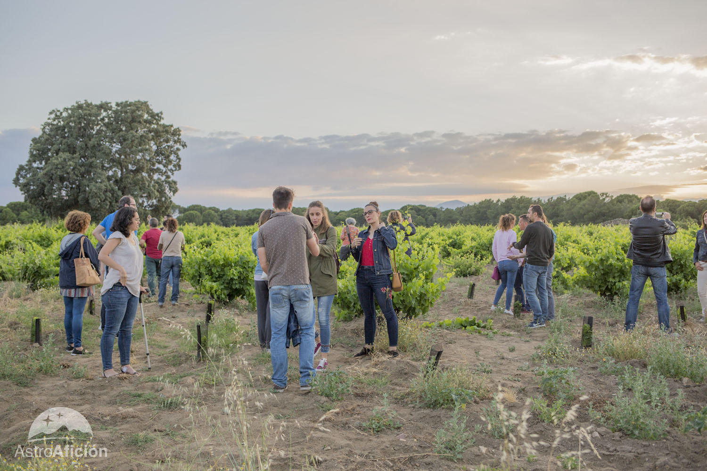 Cata de vinos y estrellas Las Moradas