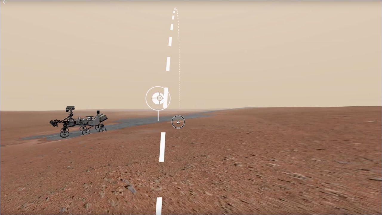 Un paseo por la superficie de Marte gracias a la NASA y Google
