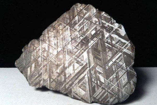 tipos de meteoritos widmanstatten