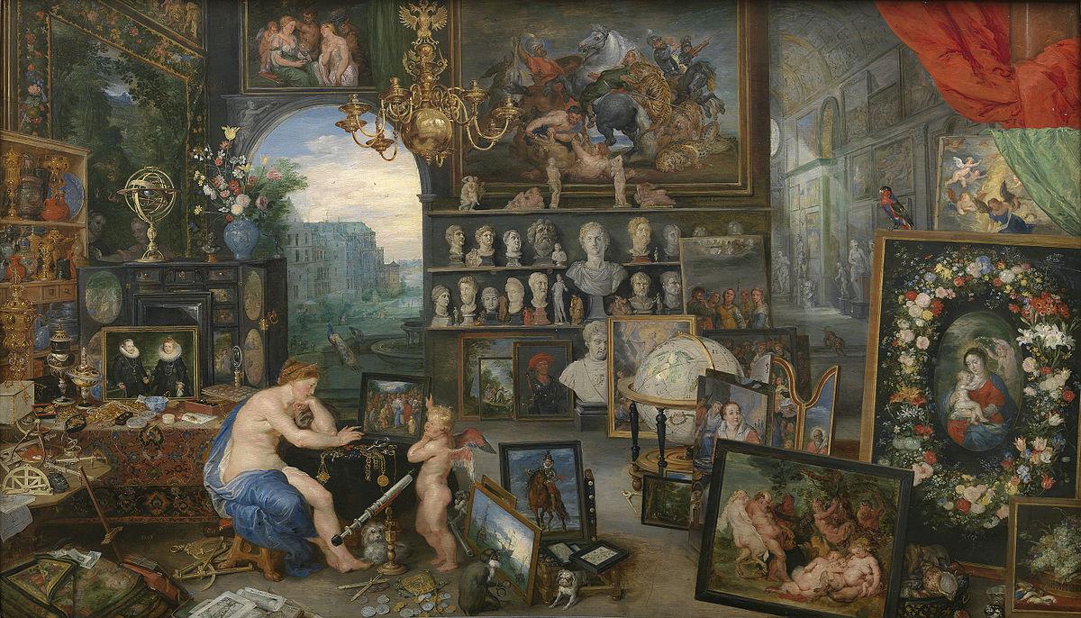 La astronomía a través de cuadros clásicos. Parte 1