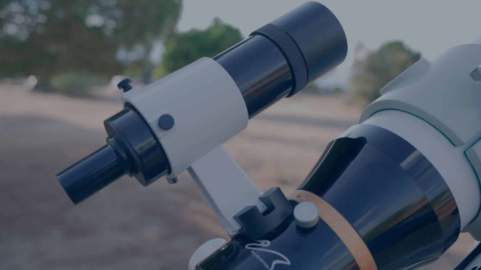 Como Alinear el Buscador del Telescopio