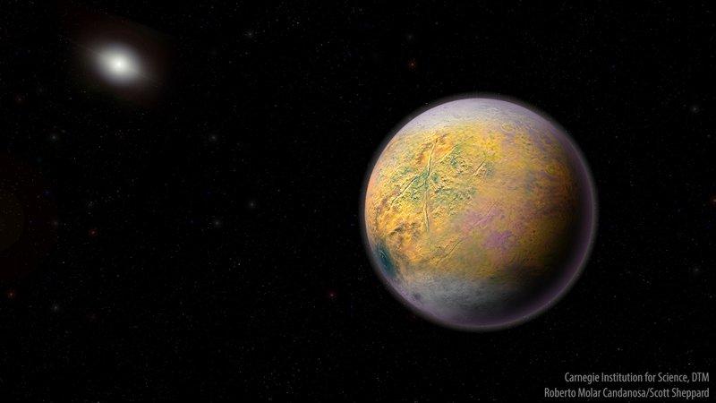 """""""The goblin"""" (El duende) un nuevo planeta enano en nuestro sistema solar"""