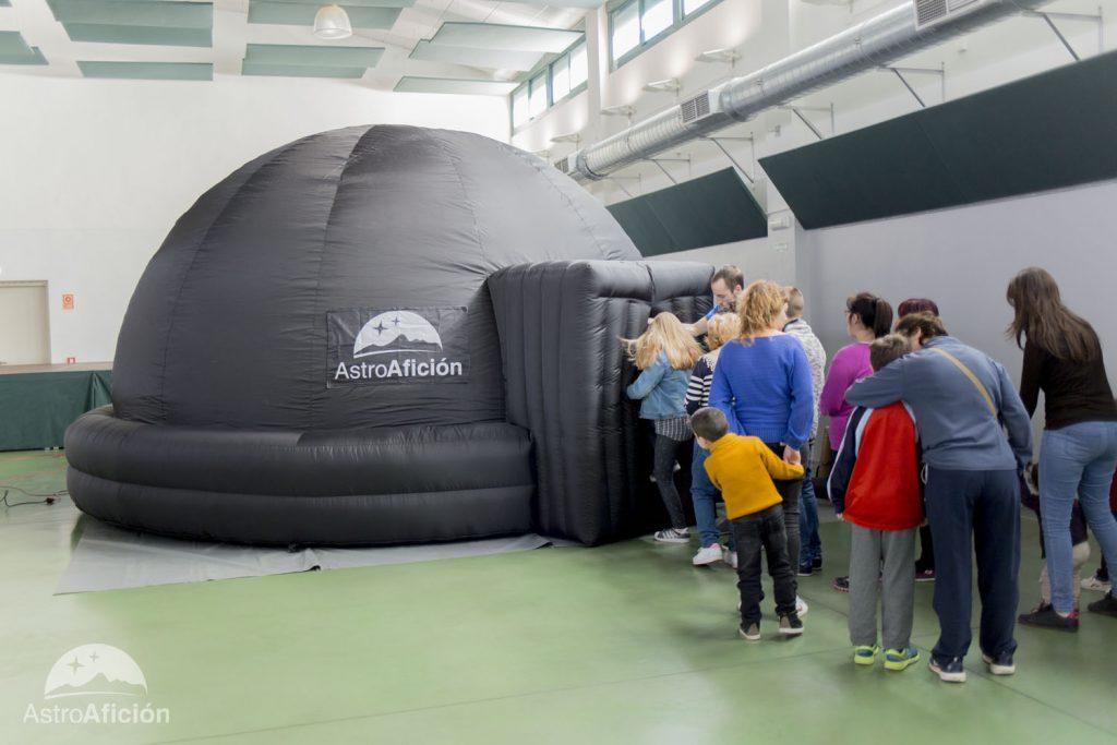Planetario Móvil Para Niños Y Mayores Astroaficion