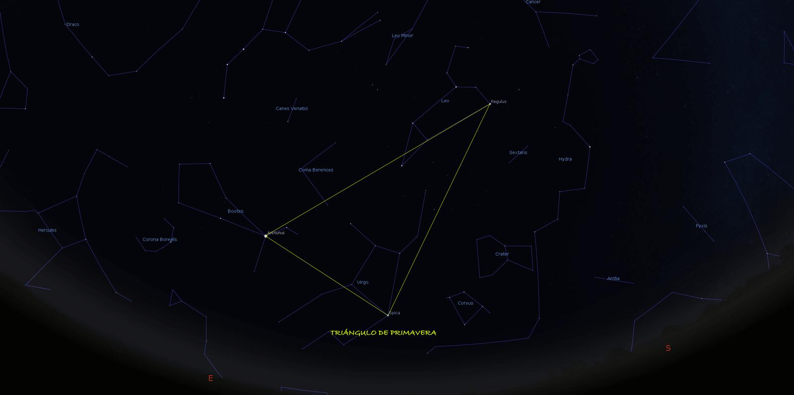 Efemérides astronómicas: Abril de 2019.