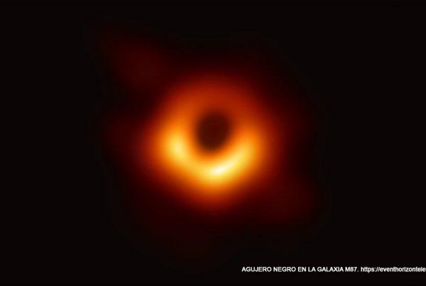 Agujero negro en la galaxia M87