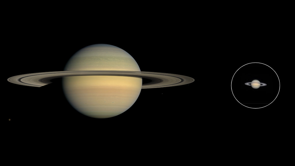 Saturno-con-telescopio