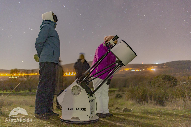 Telescopio Dobson de gran apertura