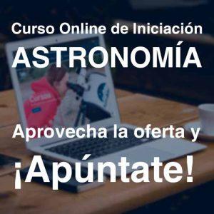 Curso Online iniciación Astronomía APUNTATE