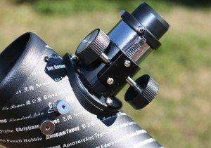 ASTROREVIEW: CELESTRON FIRSTSCOPE Enfocador